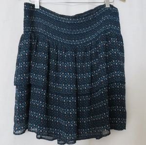 Old Navy tiered printed skirt